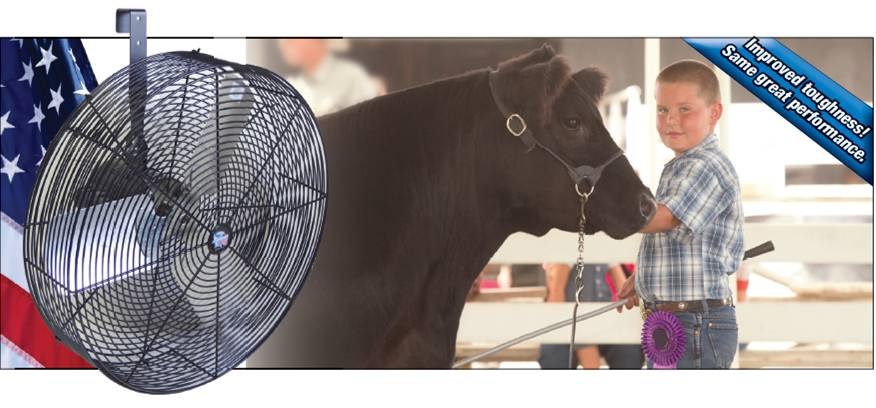 Livestock Fans & Carts - Show Stopper Equipment